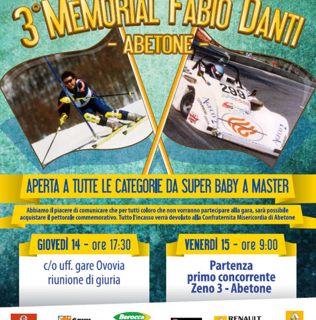 3° Memorial Fabio Danti – 15 Marzo 2013