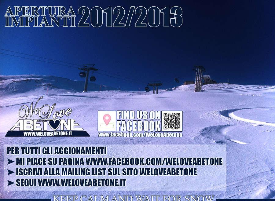 Apertura Impianti 2012/2013