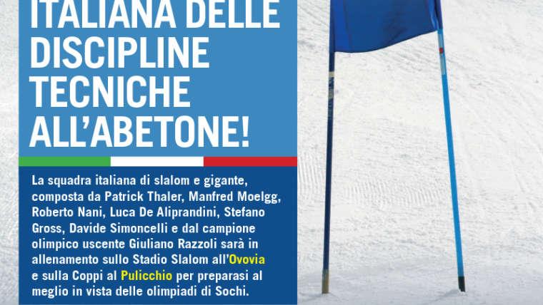 Nazionale Italiana delle Discipline tecniche all'Abetone