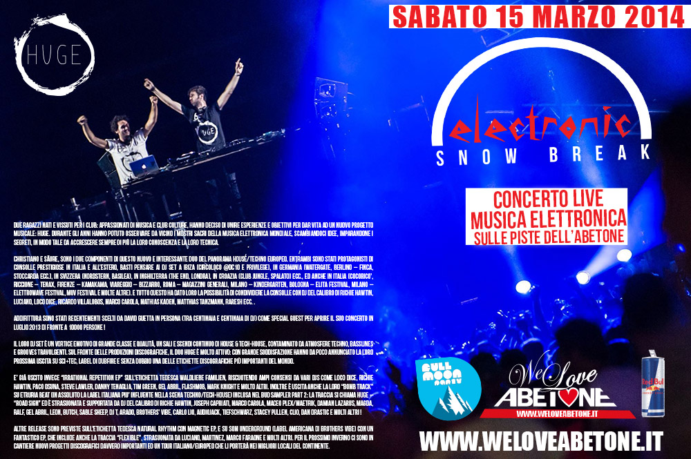 huge we love abetone 2014