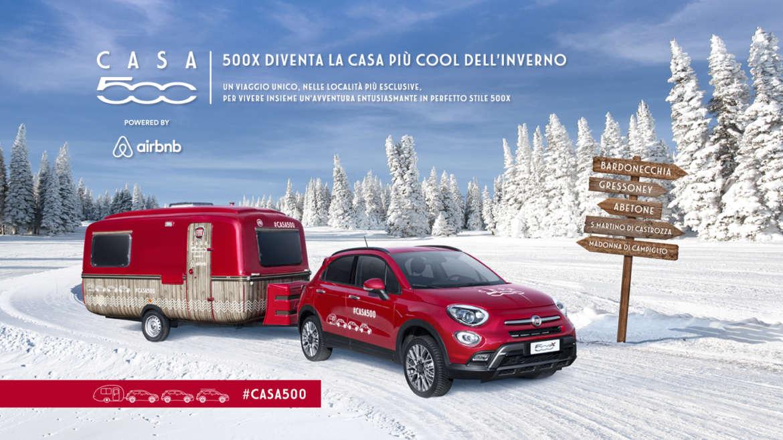 Fiat 500 all'Abetone