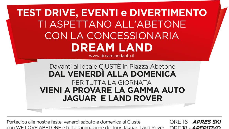 Cena Animazione Ovovia Abetone con ospite PAOLO RUFFINI – Tour  Jaguar & LandRover