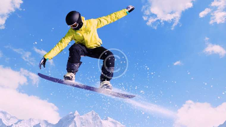 Adrenaline Rush for Snowboarders