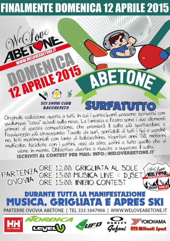 3° Surfatutto Contest | Domenica 12 Aprile 2015